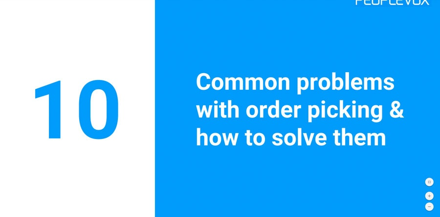 common problems with order picking