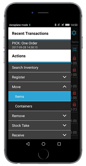 move items in your warehouse screenshot