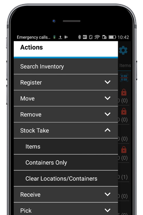 stock taking app on android