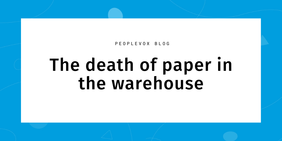 paper in warehouse problems