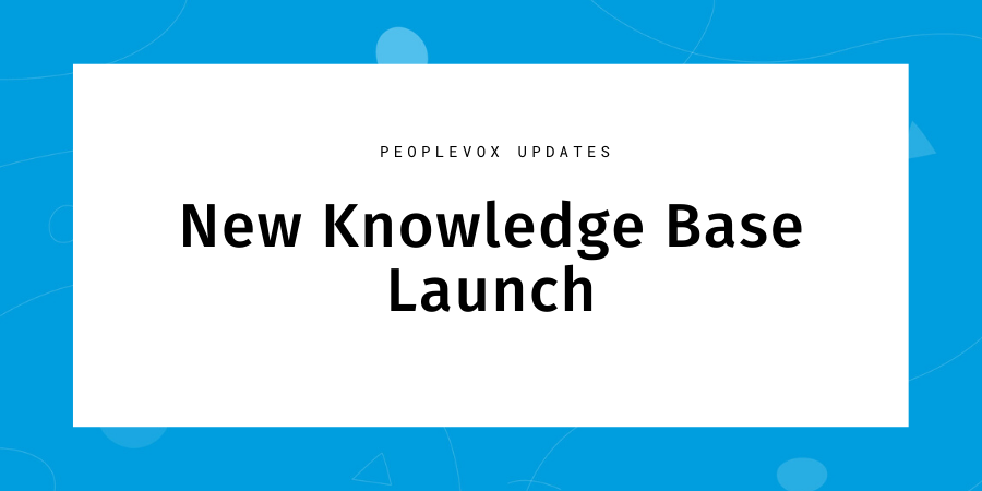 new knowledge base launch header